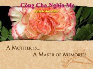 Công Cha Nghĩa Mẹ