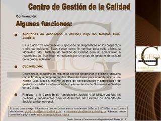 Depto. Prensa y Comunicación Organizacional. Marzo 2011