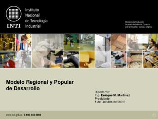 Modelo Regional y Popular de Desarrollo
