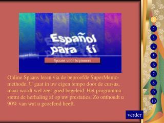 Spaans voor beginners