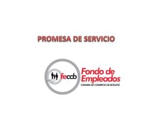 PROMESA DE SERVICIO