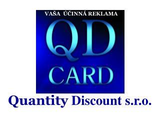 Quantity  Discount s.r.o.