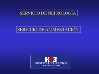 SERVICIO DE NEFROLOGÍA