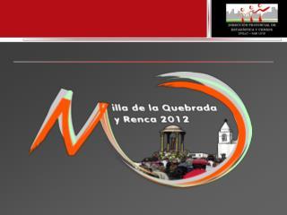 Operativo Villa de la Quebrada y Renca 2012 Mayo, 2012