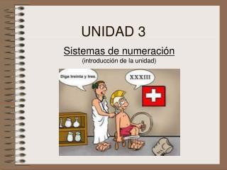 Sistemas de numeración (introducción  de la unidad )