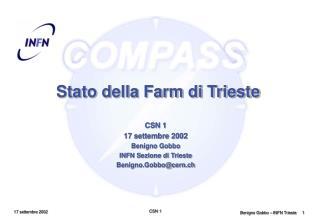 Stato della Farm di Trieste