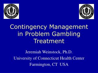 Use of contingency management vouchers in problem gambling ...