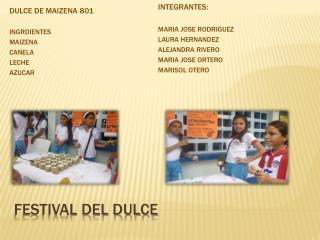 Festival del Dulce