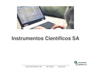 Instrumentos Científicos SA