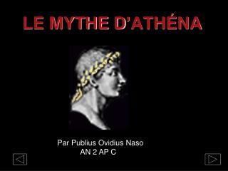 LE MYTHE D ' ATHÉNA