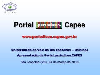 Portal                Capes periodicospes.br