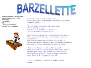 BARZELLETTE