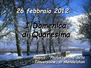 26 febbraio 2012