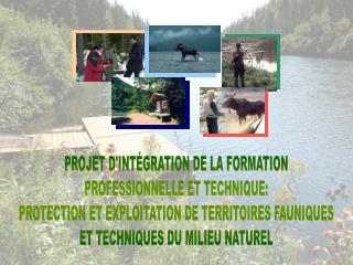 PROJET D'INTÉGRATION DE LA FORMATION PROFESSIONNELLE ET TECHNIQUE: