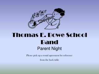 Thomas E. Bowe School Band