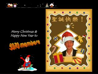 Merry Christmas & Happy New Year to