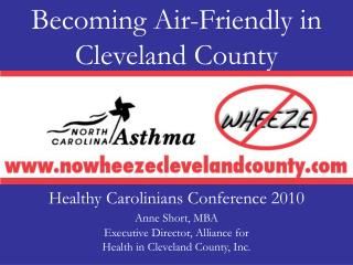 Becoming Air-Friendly in Cleveland County