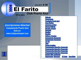 Editorial Comunicado Fundación Puerto Azul  Zona Náutica Acciones en Mora Buenas Noticias