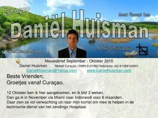 Nieuwsbrief September - Oktober 2010