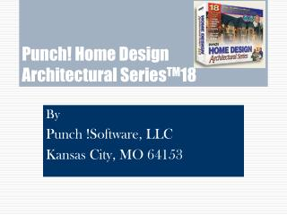 Punch! Home Design  Architectural Series TM 18