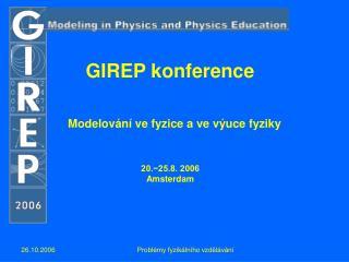 GIREP konference