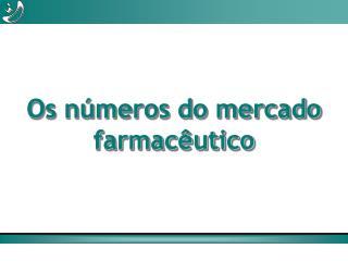 Os números do mercado  farmacêutico