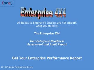 Get Your Enterprise Performance Report