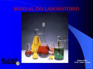 MANUAL DO LABORATÓRIO