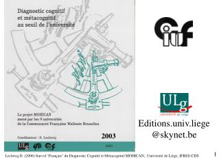 Editions.univ.liege skynet.be