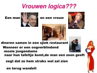 Vrouwen logica???