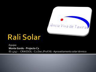 Rali Solar