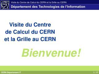 Département des Technologies de l'Information