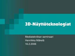 3D-N ytt teknologiat