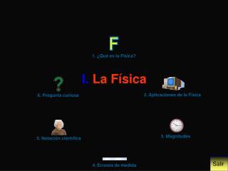 I.  La Física