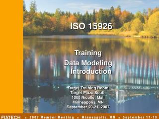 Training  Data Modeling Introduction