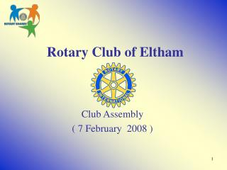 Rotary Club of Eltham