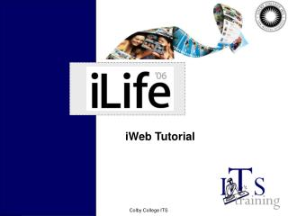 iWeb Tutorial
