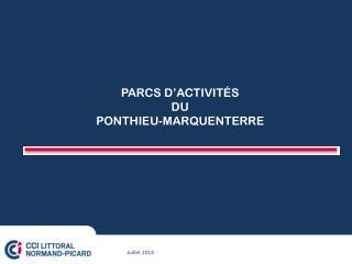 PARCS  D'ACTIVITÉS DU PONTHIEU-MARQUENTERRE