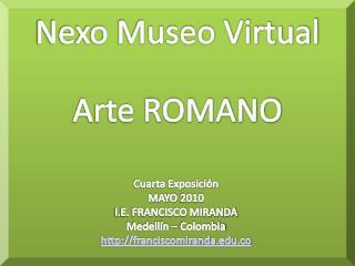 Nexo Museo Virtual