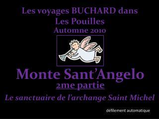 Les voyages BUCHARD dans Les Pouilles