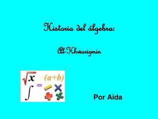Historia del álgebra: