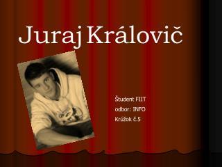Juraj Královič