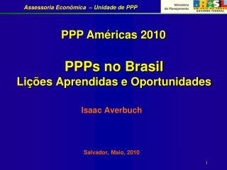 PPPs no Brasil Lições Aprendidas e Oportunidades
