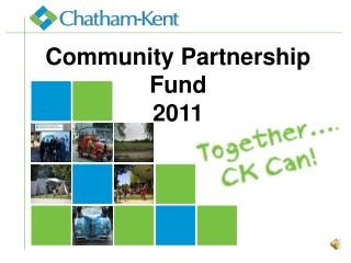 Community Partnership  Fund 2011