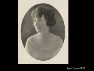 Agnes Futterer, 1920