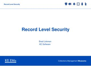 Record Level Security