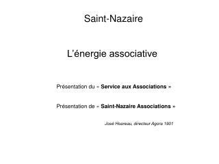 Saint-Nazaire L'énergie associative