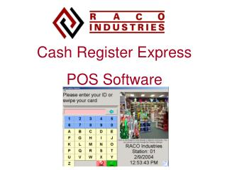 Cash Register Express POS Software