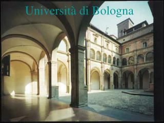 Universit �  di Bologna