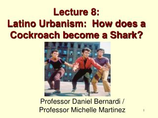 Lecture 8: Latino Urbanism:  How does a Cockroach become a Shark?